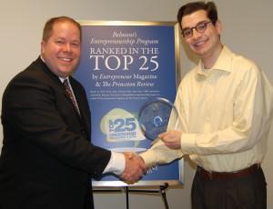 Andrew Bishop receiving Award 2013 (2)
